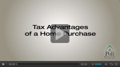 Tax Advantages of a Home Purchase